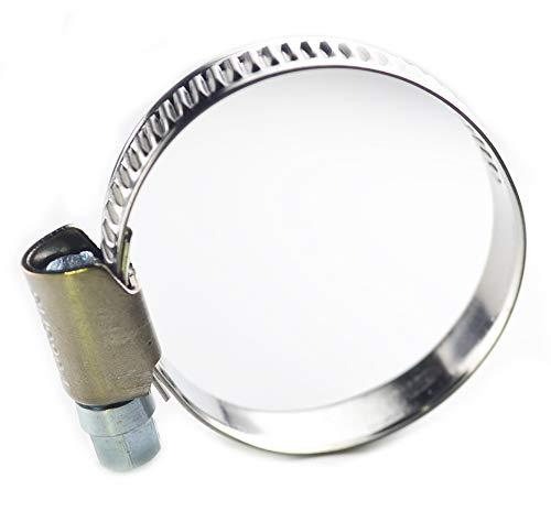 LLGL 4 Stück Schlauchschellen 25-40 mm aus Edelstahl in W4 Qualität, Bandbreite 9 mm – hochwertig rostfrei Schlauchklemmen für Spülmaschine, Waschmaschine, Auto, Teichpumpe