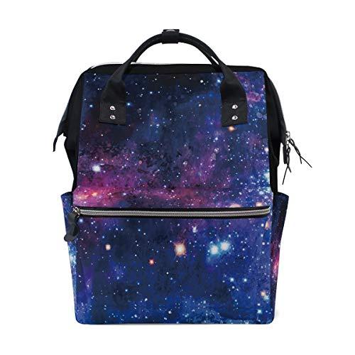 Purple Sky Star Sac à dos grande capacité multifonction pour maman - - multicolore 1, Taille unique