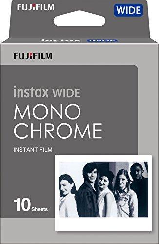 Fujifilm Instax Wide - 10 films Noir et Blanc