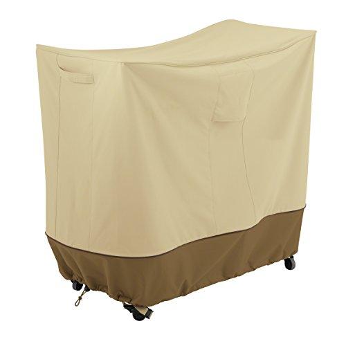 Classic Accessories Veranda Water-Resistant 40 Inch Double Handle Bar Cart Cover