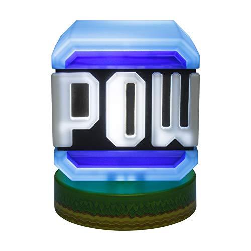 Paladone Super Mario Pow Block-Symbol-Licht, offizielles Lizenzprodukt von Nintendo