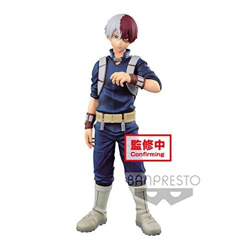 Banpresto. MY Hero Academia - Shoto Todoroki Age of Heroes Figura 19 cm