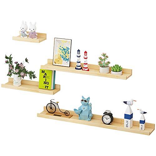 Wandregal, langlebig und platzsparend, geeignet für Badezimmer, Küchen, Schlafzimmer, Balkone usw. und bietet eine Vielzahl von Größen und Anzugoptionen