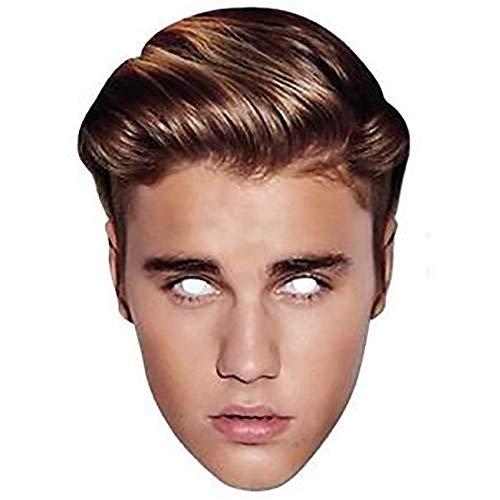 Justin Bieber - Careta (Talla nica) (Multicolor)
