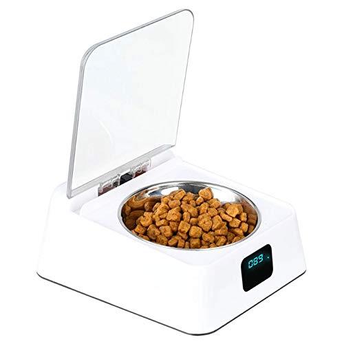 Nrpfell Hunde Napf Infrarot Sensor Automatische Ffnung Abdeckung FeuchtigkeitsbesttNdiger, MüCkengeschüTzter, Geruchsneutraler Katzen Futter Futter Automat
