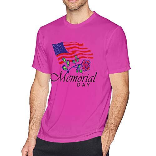 Preisvergleich Produktbild Street Dance Wir erinnern Uns an unsere Helden Memorial Day Bewegung Unisex DIY T-Shirt Fuchusia 3X- Large