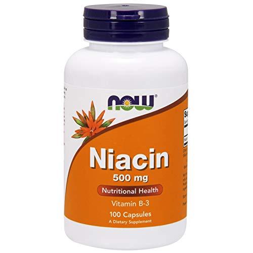 Now Foods, ナイアシン, 500 mg, 100カプセル [並行輸入品]