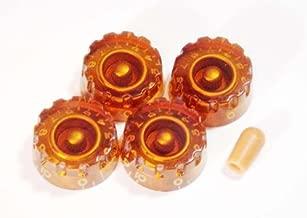 MIJ Customized Speed Knobs and Toggle knob Set (Metric) amber fa-cspd5mm-amb