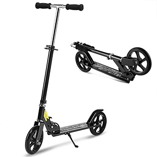Hikole Scooter for Adult Youth Kids - Foldable...