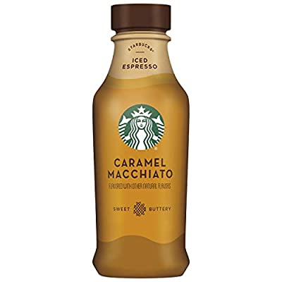 Starbucks Iced Latte, Caramel Macchiato - 14oz 8ct, 8Count