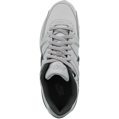 Nike Air Max Command Leather, Zapatillas de Running para Hombre, Gris (Gris (Wolf Grey/Mtlc Dark Grey-Black-White)), 43 EU