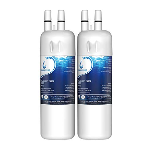 EDR1RXD1 W10295370 Water Filter Cap Replacement, Compatible with W10295370A EDR1RXD1 Refrigerator Water Filter 1 Kenmore 46-9081,Kenmore 46-9930 water filter 2pack