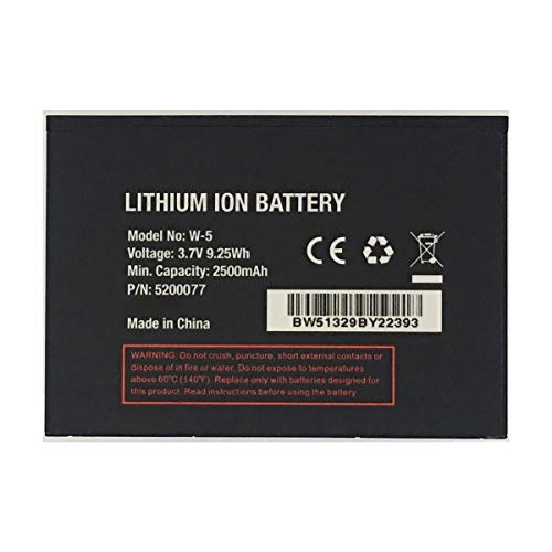 JIE Replacement W-5 Battery for Sprint AirCard...