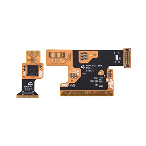 Garmol Un par para el reemplazo de los Cables Flex del Conector LCD Mini / G800F / G800H de Galaxy S5