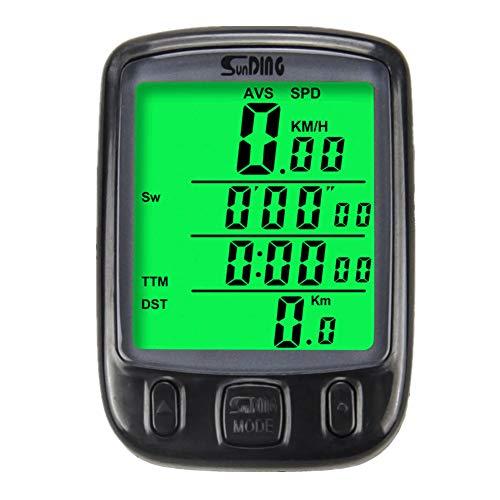 cuentakilometros velocimetro Patinete electrico Ciclismo de la computadora Velocímetro Velocímetro Sensor de...
