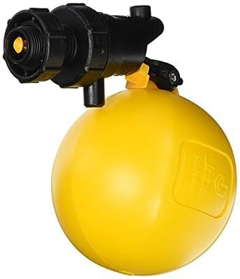 "Jobe Valves J-RJV20 Rojo Float Valve, 3/4"", Black/Yellow from Jobe Valves"