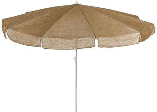beo 121682 Sonnenschirm, Durchmesser 200 cm, beige