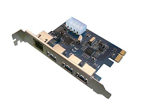 KALEA INFORMATIQUE Karte Controller PCIe USB3(3Ports) und Gigabit Ethernet (1Port)–PCI Express 1x