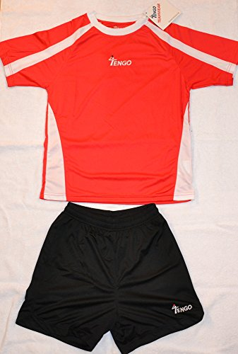 Tengo Teamline Trikot/Short red-white Gr. XS