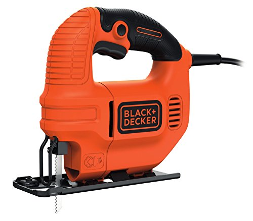 Negro + Decker KS501-GB 400 W Compact con hoja de sierra caladora