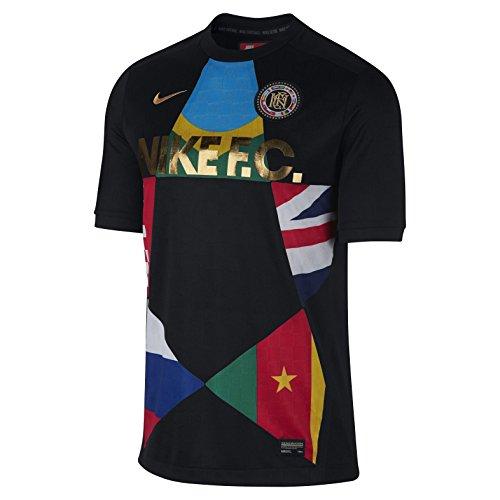 Nike886872-013 - Nike Men's F.C, Schwarz, 886872-013 Herren , Schwarz (schwarz), Large