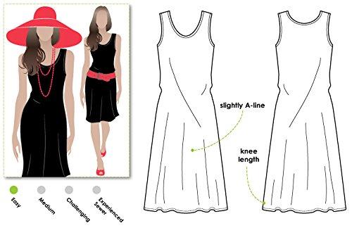 ARC Style Schnittmuster – Kreuzfahrt-Kleid (Größen 18-30) Klicken Sie auf andere