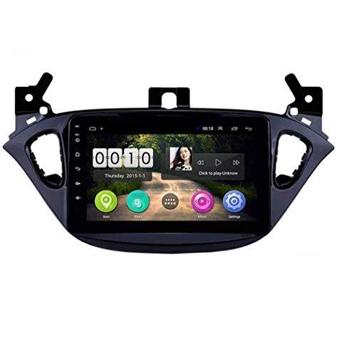Radio de coche Android 8.1, GPS, pantalla táctil HD de 8 pulgadas, para Opel Corsa 2015 2016, con control en el volante, Bluetooth, manos libres, conexión DAB USB, 4G + WiFi 2G + 32G