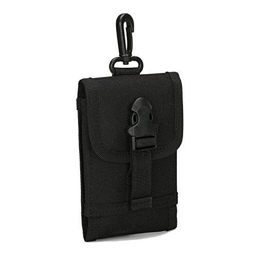 Mcdobexy Estuche Unisex Tactical Molle para teléfono móvil de 5' 6' Black