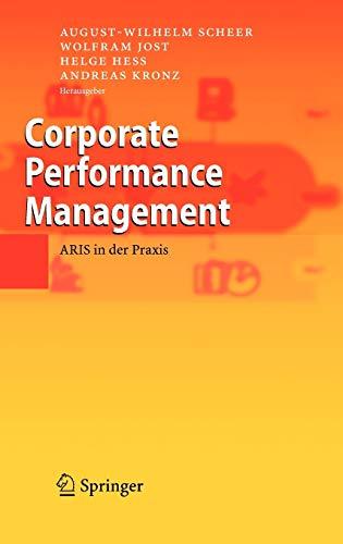 Corporate Performance Management: ARIS in der Praxis