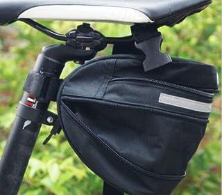DZ620 Black Bike Bicycle Saddle New Waterproof Bag Pouch Tail Rear Storage Seat