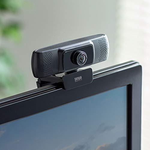 サンワサプライ会議用ワイドレンズカメラ150°超広角マイク内蔵Skype対応ブラックCMS-V43BK