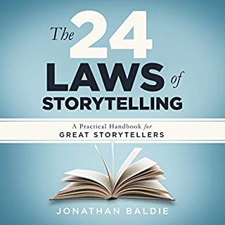 The 24 Laws of Storytelling: A Practical Handbook for Great Storytellers audiobook cover art
