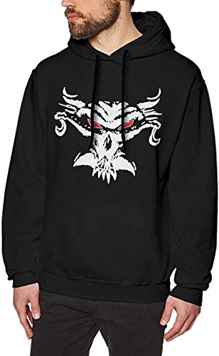 Ytdbh Herren Hoodie Kapuzenpullover, Men's Hoodie Pullover Brock Tshirt Le-snar Hooded Sweatshirt Cotton Sweater Black