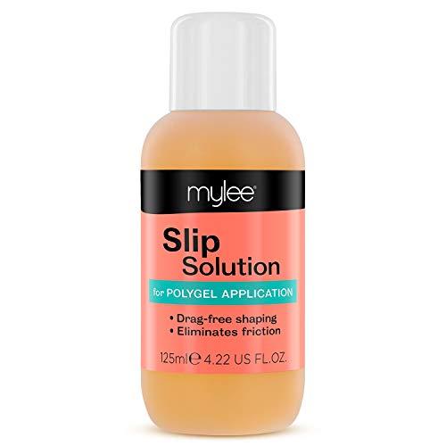 Slip Solution Polygel Mylee 125ml - Construction Polygel, Ongles et extensions UV LED, Solution Liquide d'alcool Isopropylique