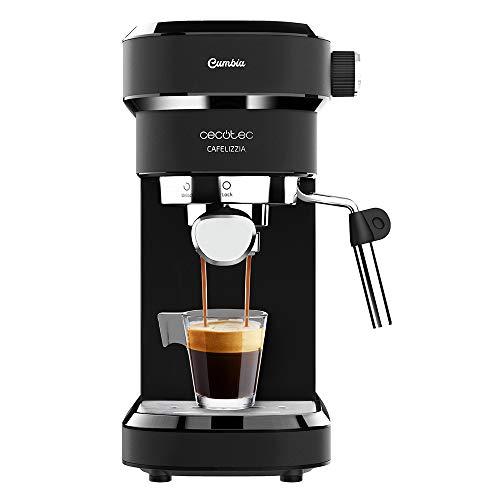 Cecotec cafetera Espresso Cafelizzia 790 Black para espressos y Cappuccino. Sistema de...