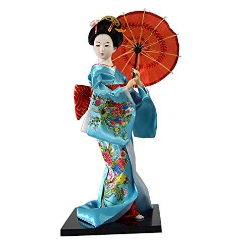 Muñecas japonesas Geisha Girl Geiko Kimono muñeca decoraci