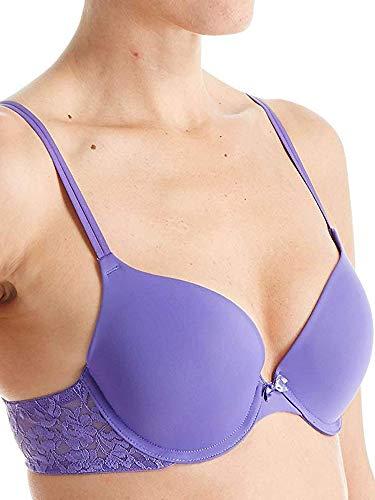 Signature Lace Plunge Bra Purple Opulence US 34E