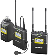 Sony UWP-D16 Integrated Digital Wireless Lavalier Microphone Package, Includes UTX-B03 Bodypack Transmitter, URX-P03 Receiver and UTX-P03 Plug-On Transmitter, UHF Channels 25/36: 536 to 608MHz