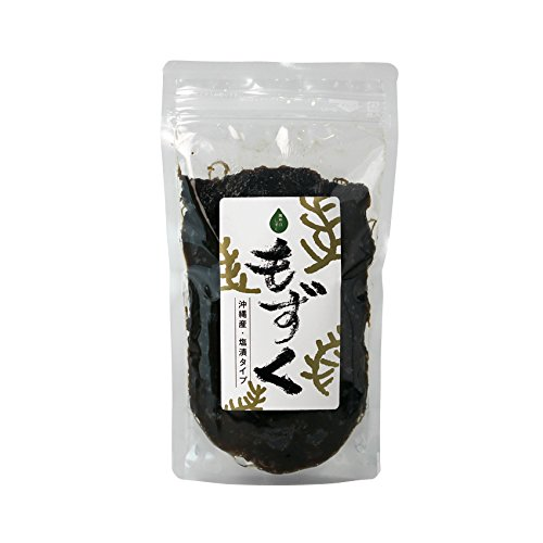 【期間限定】 沖縄県産もずく 350g×5袋 熱帯資源植物研究所 オキナワモズク(太モズク)を新鮮な状態で塩漬け 低カロリーでヘルシー フコイダンたっぷりのシャキシャキ歯ごたえ 沖縄土産にも
