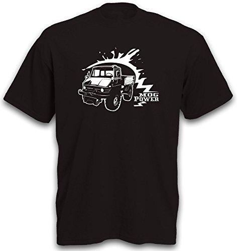 T-Shirt Unimog 406 Motiv Landmaschine Traktor Schlepper Trecker Gr. XXL