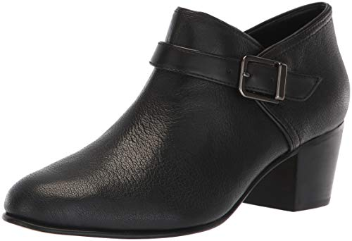 Clarks Womens Maypearl Milla Fashion Boot, Black Leather, 090 M US