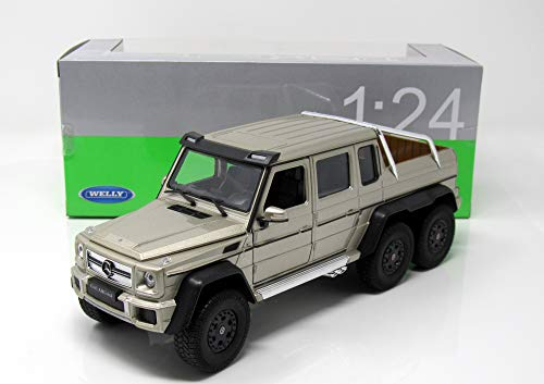 Mercedes AMG G63 6x6, metallic-beige, 0, Modellauto, Fertigmodell, Welly 1:24