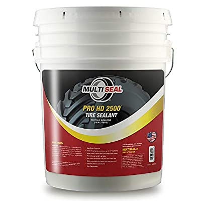 MULTI SEAL PRO HD 2500 - Our Workhorse Industrial Grade Tire Sealant Designed for Heavy Industrial and Agricultural Use, 5-Gallon Pail