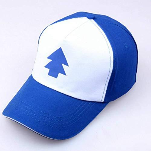 TRGFB Baseball Cap Baseball-Mütze Gravity Falls Cap Einstellbare Trucker-Mützen New Curved Bill Dipper Eltern-Kind-Baseball-Mütze