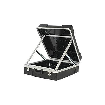 Trojan ABS Pop-Up Mixer Flight Case 12U Black