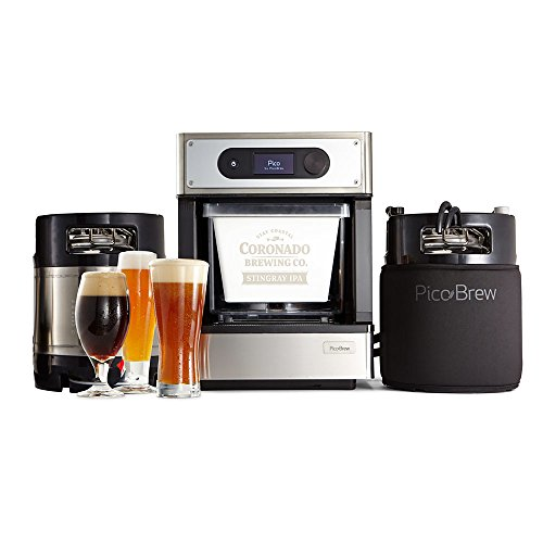 PicoBrew Pro Craft Beer Brewing Appliance for Homebrewing,Stainless Steel,49'x35'x8'