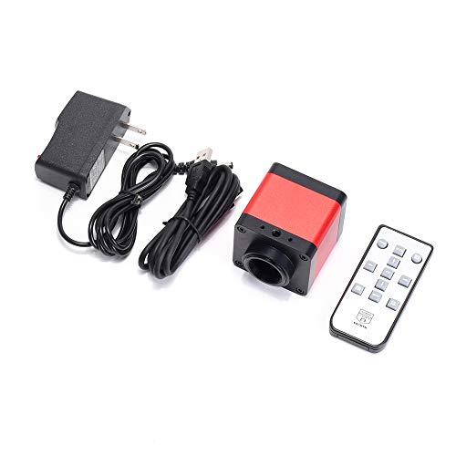 HAYEAR 48MP 1080P HD HDMI USB Industry Digital Microscope Camera C-Mount TF Card Remote Control for Phone PCB Board Repair Soldering