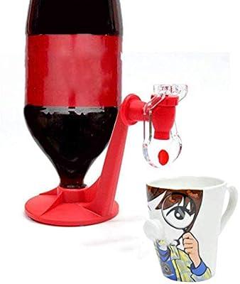 bingxqiso New Novelty Saver Soda Dispenser Bottle Coke Upside Down Drinking Water Dispense Machine for Gadget Party Home Bar from bingx