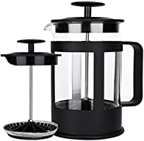 Cafetera Francesa, TYC 850 ml Brazil Cafetera Prensa Francesa vidrio tipo embolo french press para compartir un cafe...