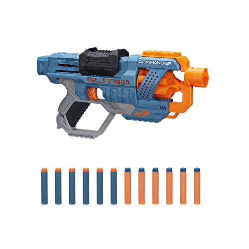 NERF Elite 2.0 Commander RD-6 Blaster Now $8.24